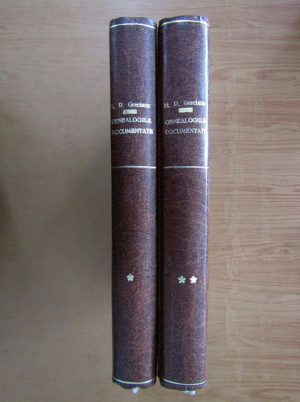 Stefan D. Grecianu – Genealogiile documentate ale familiilor boieresti (2 volume)
