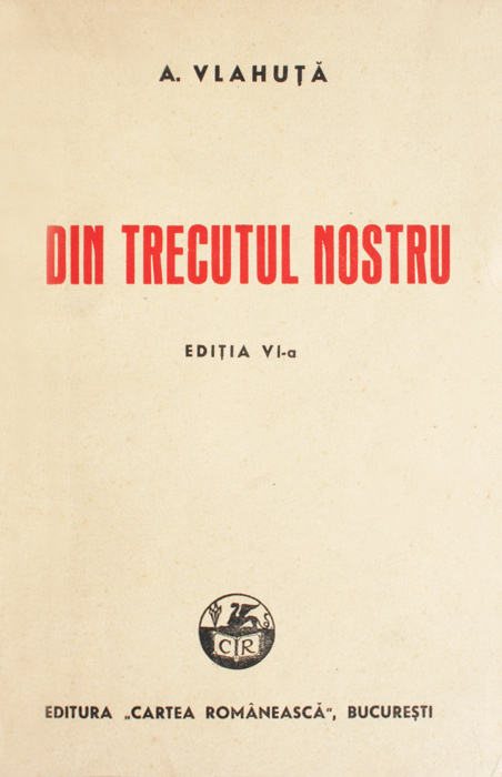 Din trecutul nostru (1943) - Alexandru Vlahuta