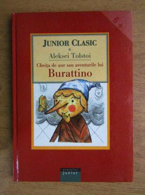 Aleksei Tolstoi - Cheița de aur sau aventurile lui Burattino
