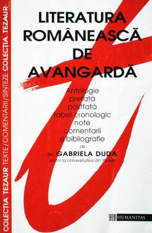 Literatura romaneasca de avangarda -