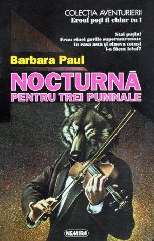 Nocturna pentru trei pumnale - Barbara Paul
