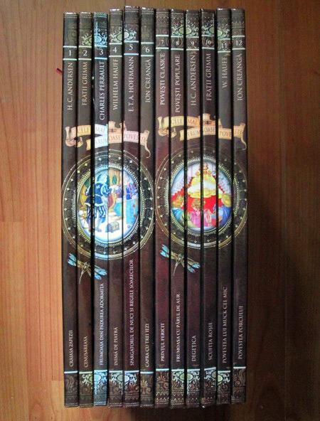 Colectia completa Cele mai frumoase povesti (12 volume)