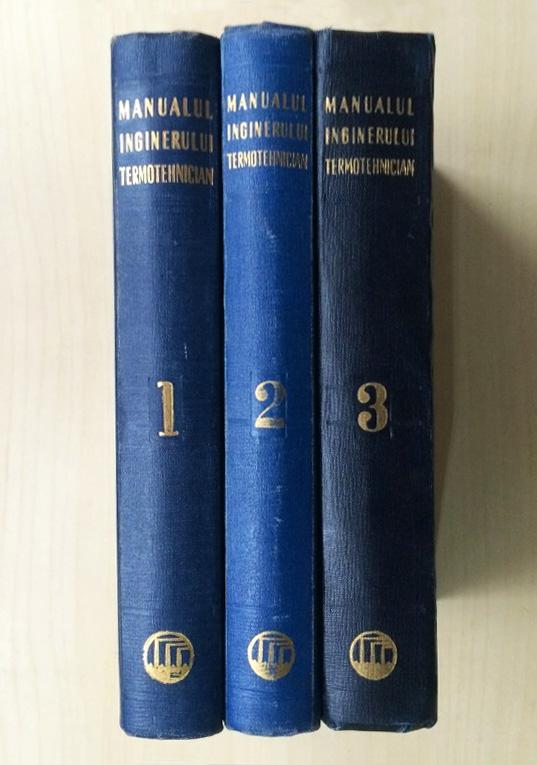 Manualul inginerului termotehnician (3 vol.) - coord. Bazil Popa||