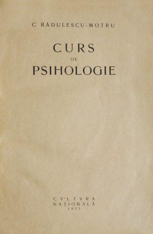 Curs de psihologie (editia princeps