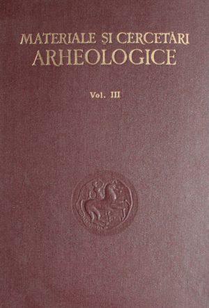 Materiale si cercetari arheologice - Colectiv de autori