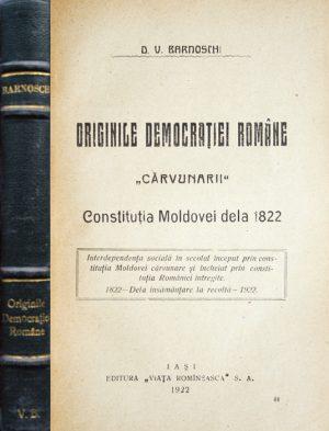 Originile democratiei romane (editia princeps