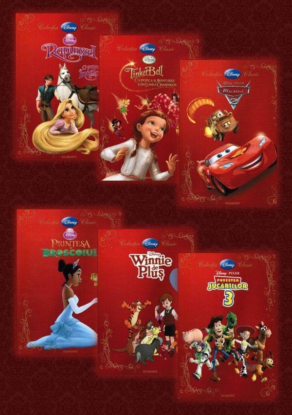 Colectia completa Disney Clasic III (6 volume)