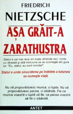 Asa grait-a Zarathustra - Friedrich Nietzsche