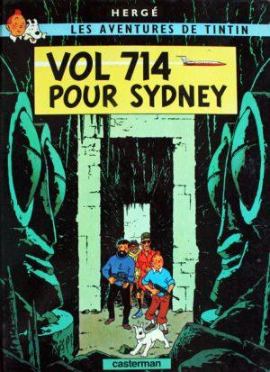 Les aventures de Tintin. Vol 714 pour Sydney - Herge