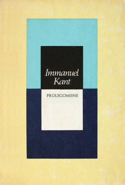 Prolegomene - Immanuel Kant