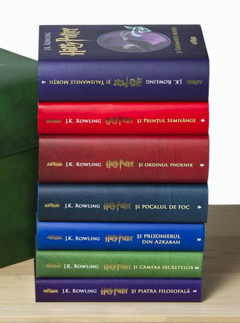 Colectia completa Harry Potter (7 volume)