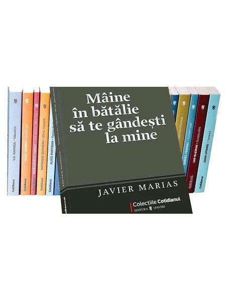 Maine in batalie sa te gandesti la mine - Javier Marias