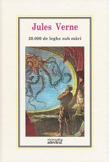 01) 20.000 de leghe sub mari (editia Adevarul) - Jules Verne - cumpara  cartea online
