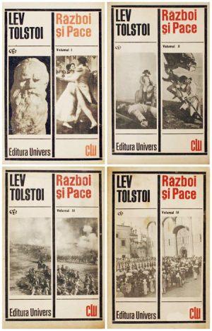 Razboi si pace (4 vol.) - Lev Tolstoi