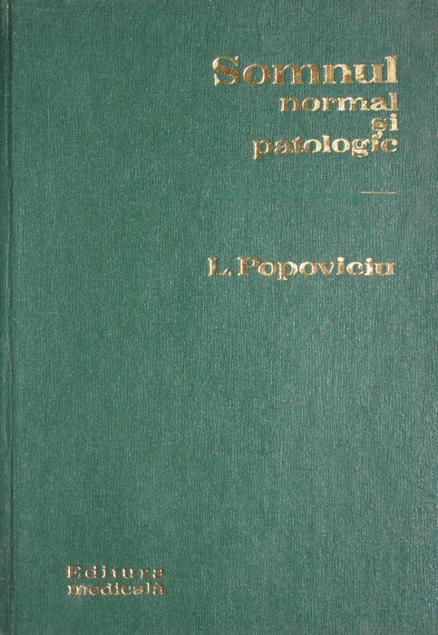 Somnul normal si patologic - Liviu Popoviciu