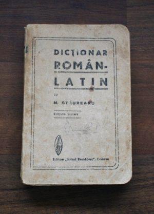 Dictionar Roman-Latin - M. Staureanu