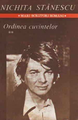 Ordinea cuvintelor (2 vol.) - Nichita Stanescu