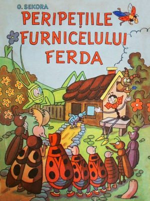 Peripetiile furnicelului Ferda||Limba franceza. Manual pentru clasa a IX-a - Rodica Mladinescu