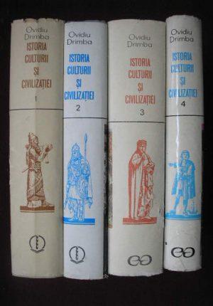 Istoria culturii si civilizatiei (4 volume