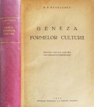 Geneza formelor culturii (editia princeps