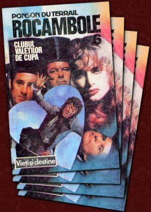 Rocambole: Clubul Valetilor de Cupa (4 vol.) - Ponson Du Terrail