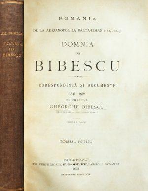 Domnia lui Bibescu (editia princeps