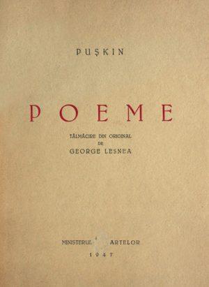 Poeme (1947) - Puskin
