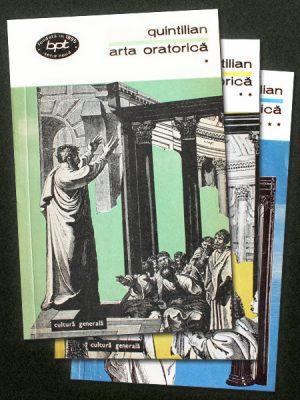 Arta oratorica (3 vol.) - Quintilian