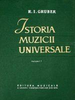 Istoria muzicii universale (3 vol.) - R. I. Gruber