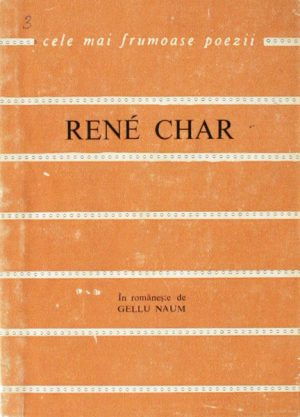Poeme alese - Rene Char