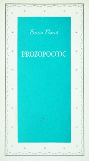 Prozopoeme (avangarda