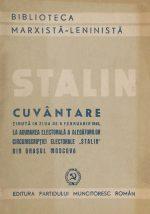 Cuvantare in Moscova - I.V. Stalin