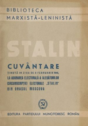 Cuvantare in Moscova - I.V. Stalin