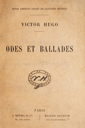 Odes et Ballades (edition definitive