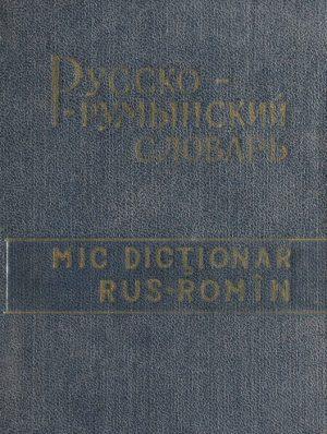 Mic dictionar rus-roman -